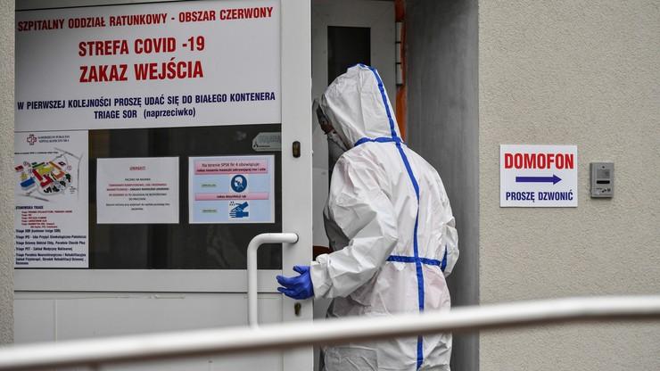 Ponad 13,6 tys. nowych zakażeń. Najwięcej zgonów od początku pandemii