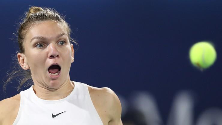 Turniej WTA w Dubaju: Halep i Rybakina w finale