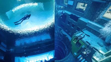 Tak niesamowicie wygląda podwodne miasto w Dubaju. To raj dla nurków [WIDEO]