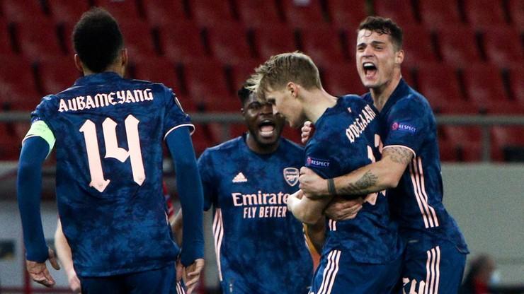 Liga Europy: Dominacja Arsenalu w Pireusie. Kanonierzy zrewanżowali się Olympiakosowi