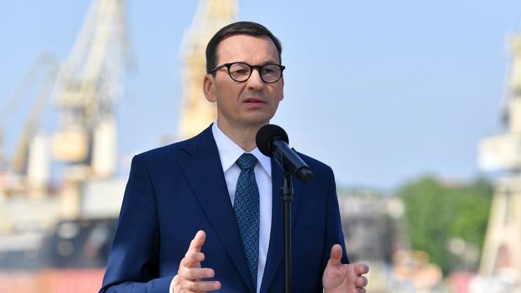 """Premier zapowiada """"setki mln zł na rozbudowę sieci gazowej"""""""