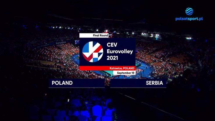 Polska - Serbia 3:0. Skrót meczu o trzecie miejsce