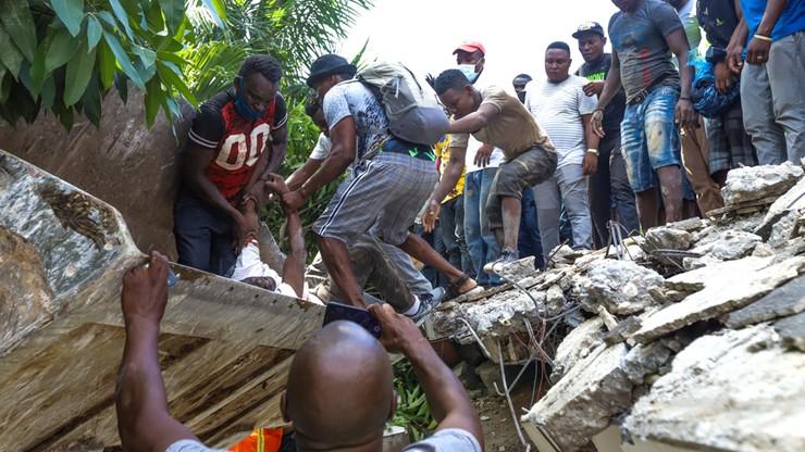 Trzęsienie ziemi na Haiti. Liczba ofiar przekroczyła 700