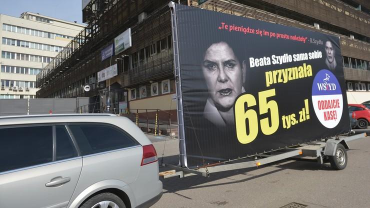 """""""Pazerność działaczy PiS nie zna granic"""". Kolejna odsłona akcji """"Konwój wstydu"""""""
