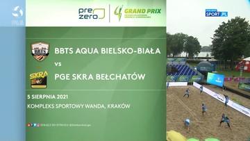 BBTS AQUA Bielsko-Biała – PGE Skra Bełchatów 1:2. Skrót meczu