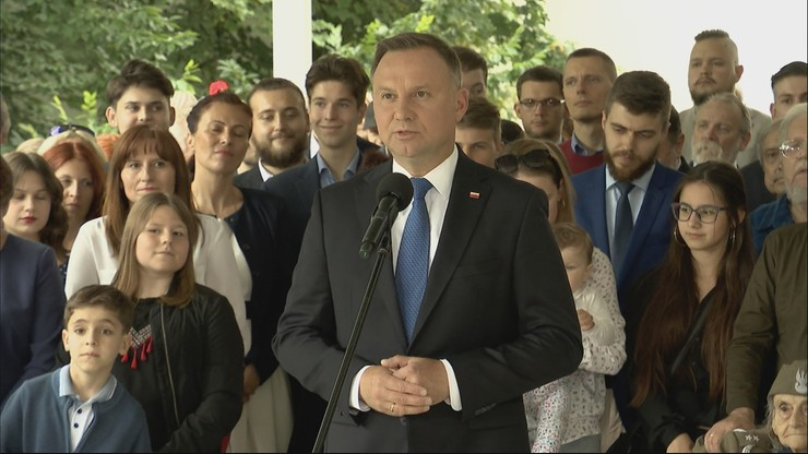 """""""Mam propozycję dla całej sceny politycznej"""". Apel prezydenta Dudy"""