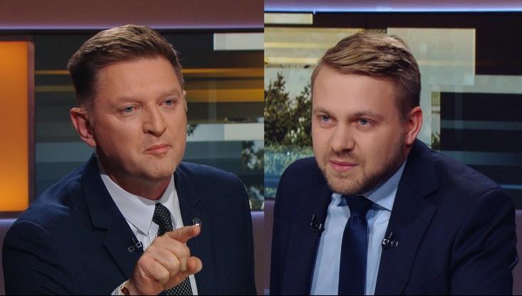 """Kłótnia polityków o dezubekizację. Rozenek do Ozdoby: """"powinien pan dostać w twarz"""""""