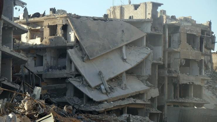 Amerykański i brytyjski żołnierz zginęli w Syrii w wyniku eksplozji ładunku wybuchowego