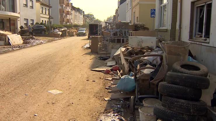 Niemcy. Przestępcy grasują na terenach dotkniętych powodzią; zatrzymano 23 osoby