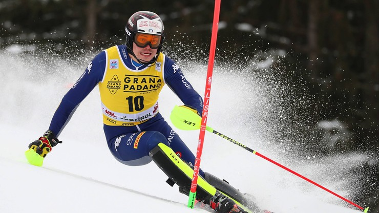 Alpejski PŚ: Jasiczek zdyskwalifikowany w pierwszym przejeździe slalomu
