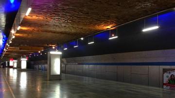 W metrze w Tbilisi zawalił się sufit. Czternaście osób zostało rannych
