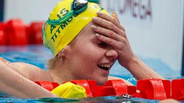 Tokio 2020: Australijka Ariarne Titmus złotą medalistką na 400 m st. dowolnym