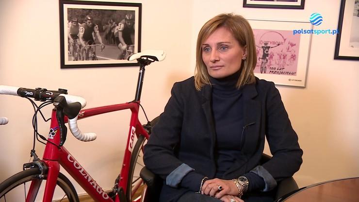Agata Lang: Chcemy bardziej promować kolarstwo wśród kobiet