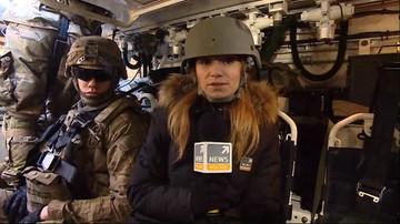 Amerykański konwój na polskiej drodze ekspresowej S8. W drodze do Orzysza