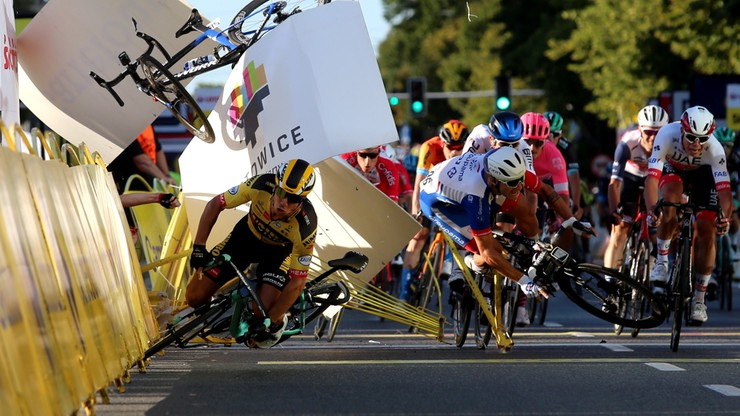 Wypadek na Tour de Pologne. Prokuratura o szczegółach śledztwa