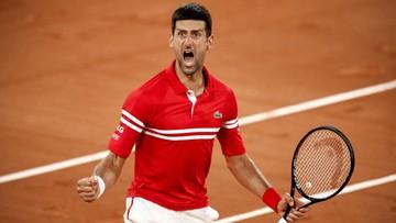 Roland Garros: Trudna przeprawa Djokovicia w ćwierćfinale