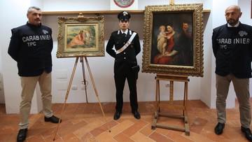 Odnaleziono obrazy Rubensa i Renoira. Skradziono je w ubiegłym roku