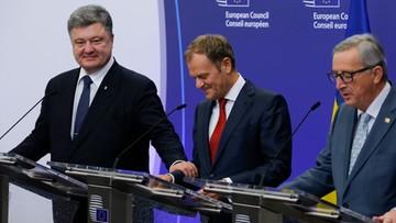 Poroszenko: umowa UE-Ukraina wejdzie w życie mimo restrykcji Rosji