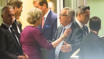 Brexit: May i Juncker wzywają do przyspieszenia rozmów
