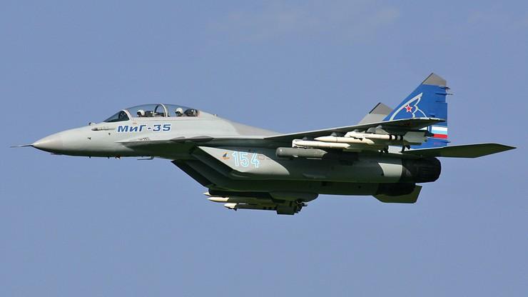 Rosja: rozpoczęły się próby w locie myśliwca MiG-35