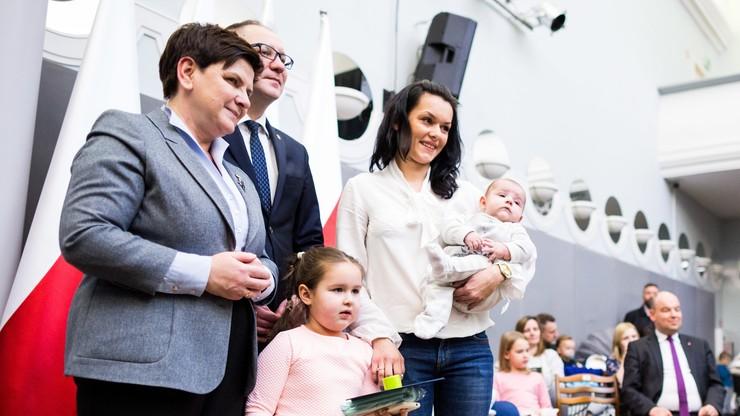 Szydło: chcemy, żeby rodzina stała się symbolem Polski