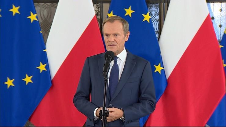 Tusk o debacie w PE: zderzenie PiS-owskiego rządu ze ścianą