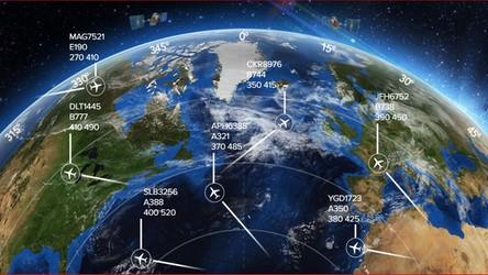 Koniec znikających samolotów. Ruszył satelitarny system śledzenia lotów na żywo