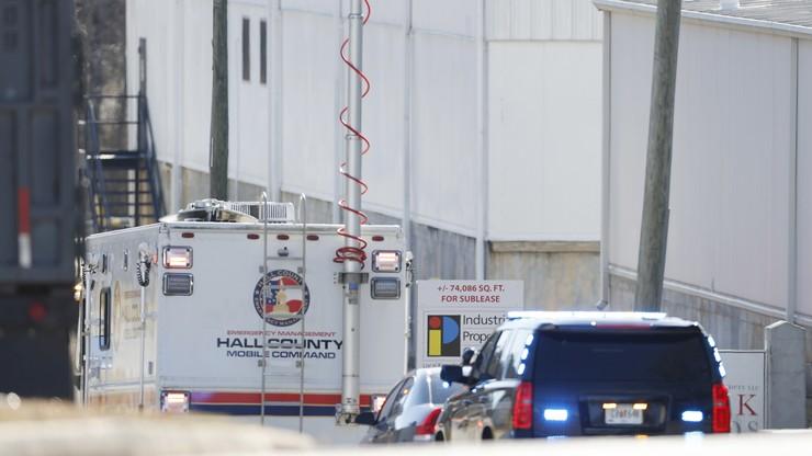 W zakładzie drobiarskim wyciekł płynny azot. 6 osób nie żyje
