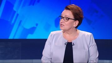 """Krzyczała do minister Anny Zalewskiej """"sucz"""". Sąd: to słowo nie jest obraźliwe"""