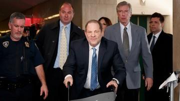 Ława przysięgłych: Harvey Weinstein winny napaści seksualnej