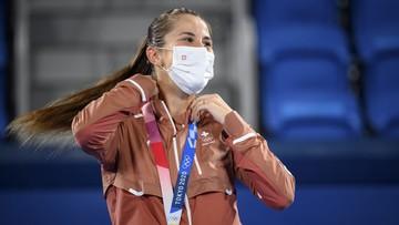 Tokio 2020: Nieoczekiwana złota medalistka w tenisowym turnieju kobiet
