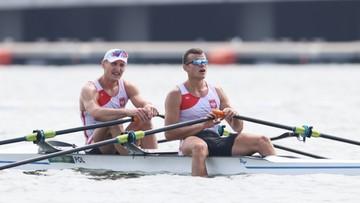 Tokio 2020. Wioślarstwo: Polska męska dwójka podwójna na szóstym miejscu
