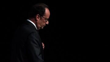 "Rekordowo niskie notowania Hollande'a. Sondaż ""Le Figaro"""