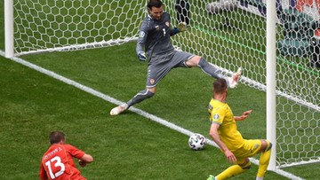 Euro 2020: Ukraina – Maceodnia Północna 1:0. Gol Andrija Jarmolenki