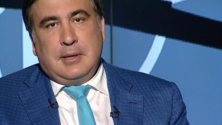 Saakaszwili: będę dążył do powrotu na Ukrainę