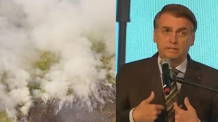 """""""Nie ma wystarczających środków, aby walczyć z pożarami lasów w Amazonii"""""""