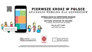 Pierwsza w Polsce aplikacja mobilna dla uchodźców