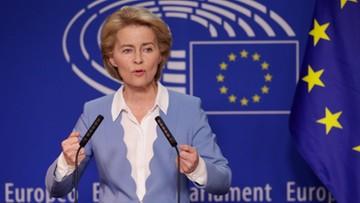 Płaca minimalna w UE, pilnowanie przestrzegania praworządności. Obietnice kandydatki na szefową KE