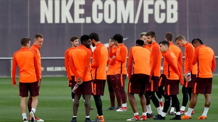 Barcelona liczy na powrót Iniesty w rewanżu z Chelsea