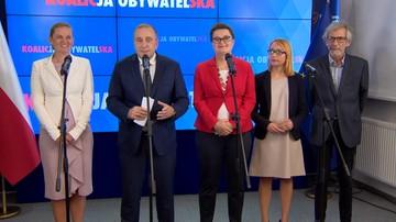 """Koalicja Obywatelska podała """"jedynki"""" na listach wyborczych. Jest kilka niespodzianek"""