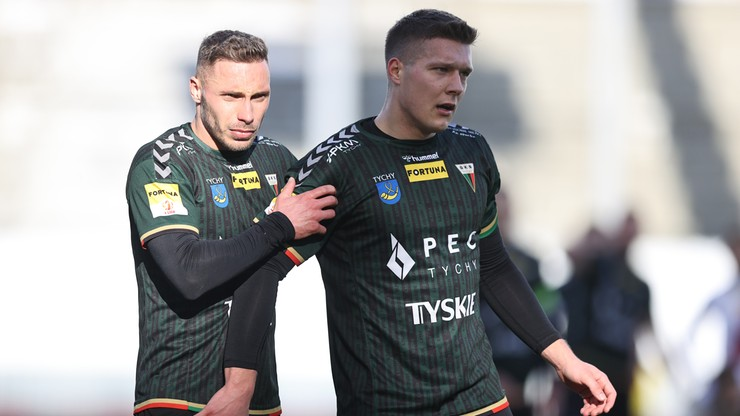 Fortuna 1 Liga: GKS Tychy - Radomiak Radom. Transmisja w Polsacie Sport News