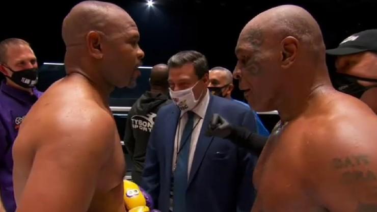 Remis w pojedynku legend boksu!