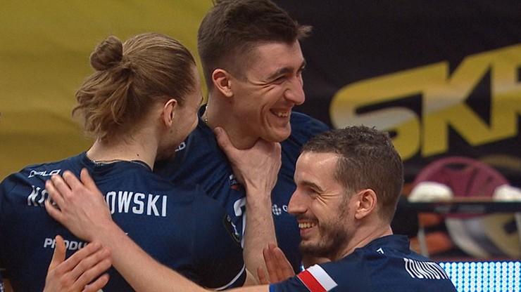 Kaczmarek oberwał od Kochanowskiego! Komiczna sytuacja w meczu Ligi Mistrzów