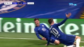 Chelsea - Real Madryt 2:0. Gol Masona Mounta