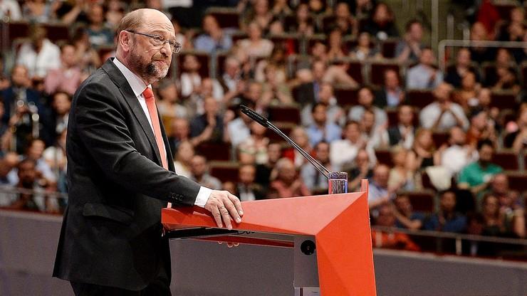 """""""Stracił panowanie nad sobą"""". CDU i CSU krytykują Schulza za atak na Merkel"""