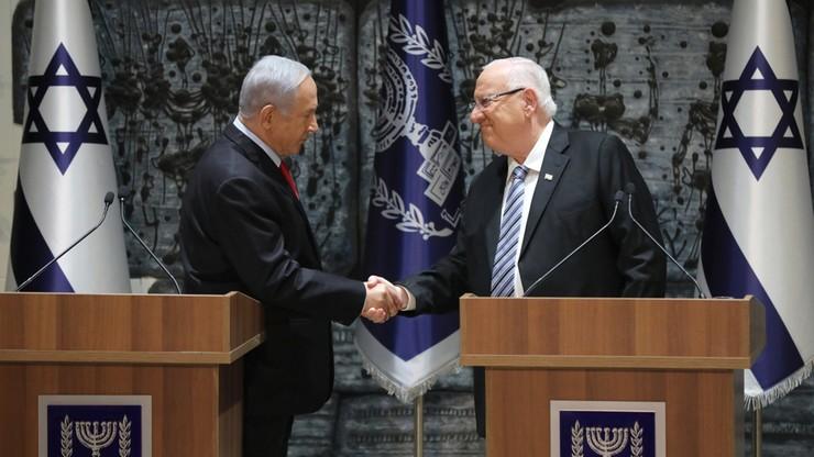 """""""Teraz jesteśmy tylko my"""". Prezydent Izraela powierzył Netanjahu misję utworzenia rządu"""