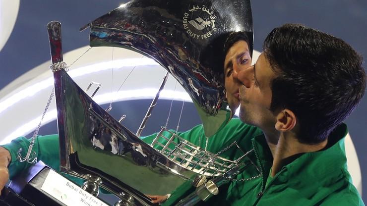 ATP w Dubaju: Djokovic lepszy od Tsitsipasa w finale