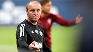 Trener Legii: Można mecz przegrać, ale nie można przegrywać w taki sposób