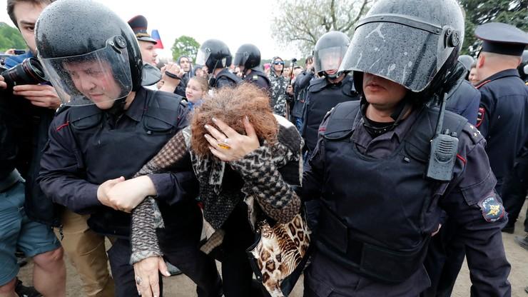 Areszt dla Nawalnego i ponad 1,5 tys. demonstrantów w Rosji