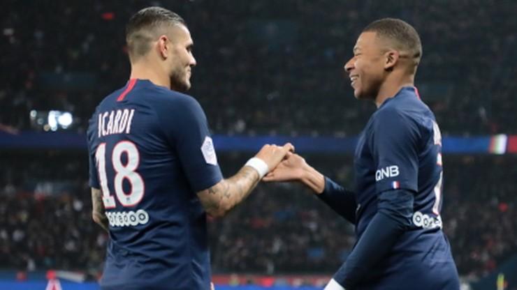 Ligue 1: PSG rozbiło Olympique Marsylia. Koncert Icardiego i Mbappe
